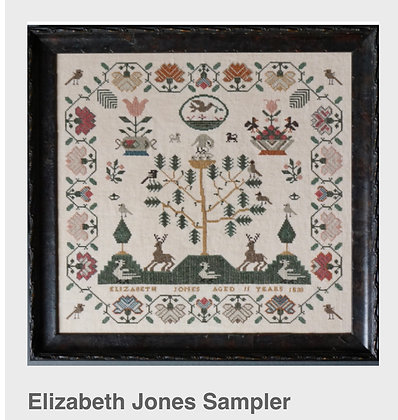 Elizabeth Jones Sampler