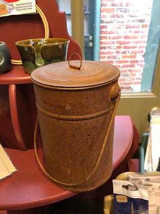 Tin Bucket w/ Lid