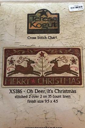 Teresa Kogut Oh Deer, It's Christmas