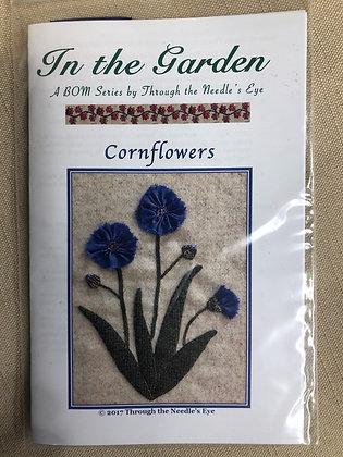 BOM Cornflower Kit w/wool & threads