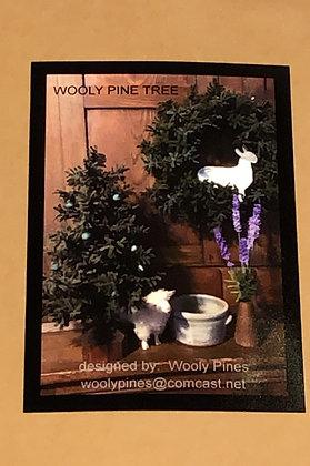Wooly Tree Pattern