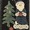 Thumbnail: Blue Santa Pattern