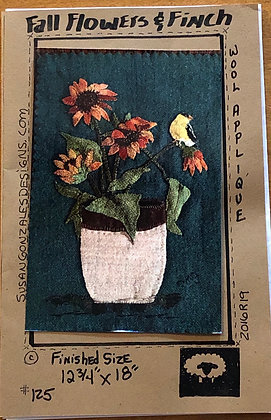 SG Fall Flowers & Finch