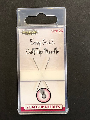 Easy Glide Ball Tip #26 Cross Stitch