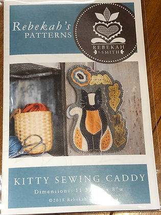 Kitty Sewing Caddy