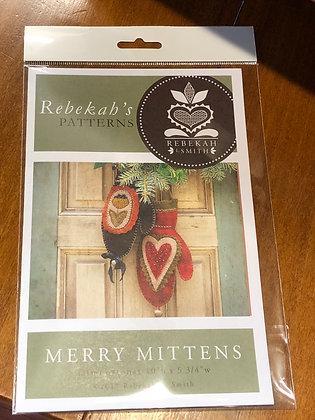 Merry Mittens pattern