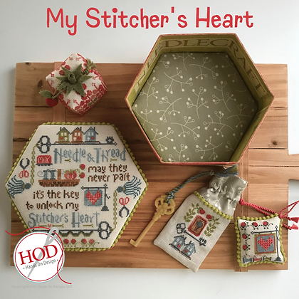 Hands on Designs My Stitcher's Heart