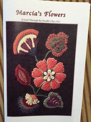 Marcia's Flowers Applique Pattern