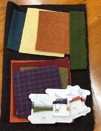 Marcia's Flowers Wool Kit