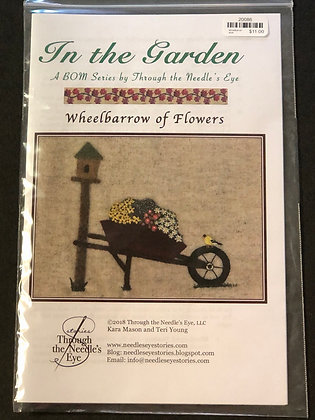 BOM Wheelbarrow of Flowers