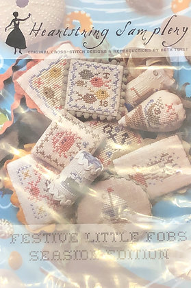 Heartstring Samplery Seaside  Edition Fobs