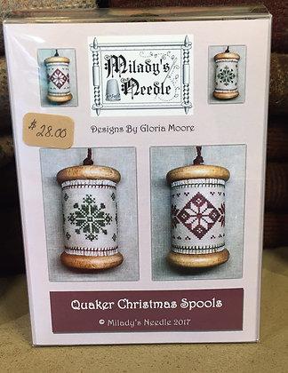 Quaker Christmas Spools
