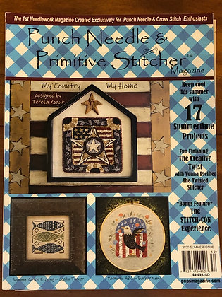Punch Needle and Primitive Stitcher magazine summer 2020
