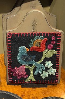 Blue Bird Fraktur Pattern