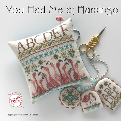 Hands on Designs You Had Me at Flamingo