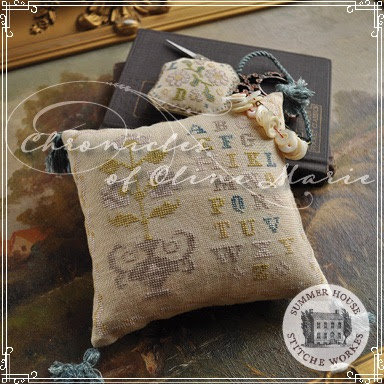 Summer House Stitche Workes Chronicles of Oline Marie
