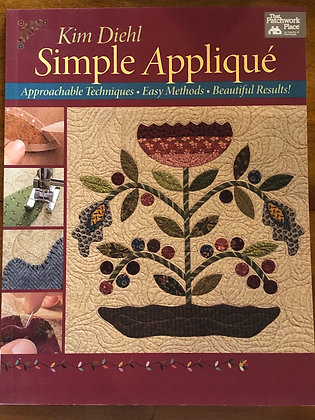 Simple Appliqué by Kim Diehl