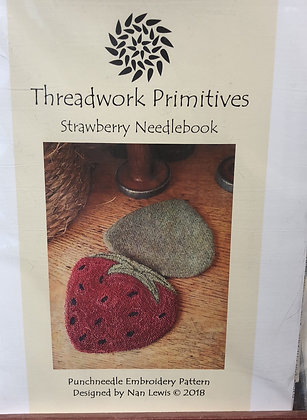 Strawberry Needlebook