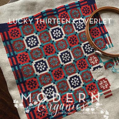 Summer House Stitche Workes Lucky Thirteen Coverlet