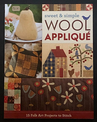 Sweet and Simple Wool Applique