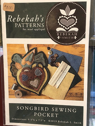 Songbird Sewing Pocket
