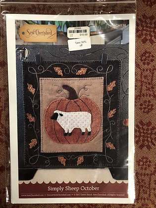 See Cherished Simply Sheep Appliqué Pattern