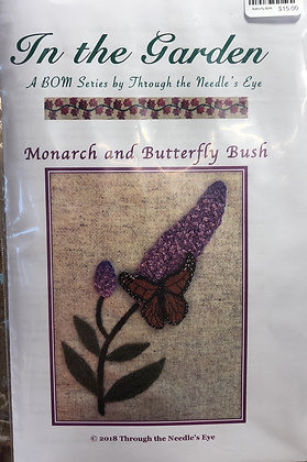 BOM Monarch and Butterfly Bush