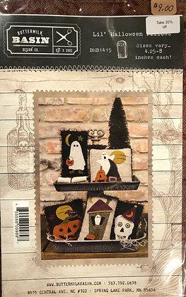 """Buttermilk Basin """"Lil Halloween Pillows"""""""