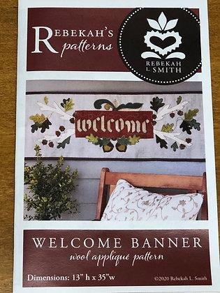 Rebekah Smith Welcome Banner