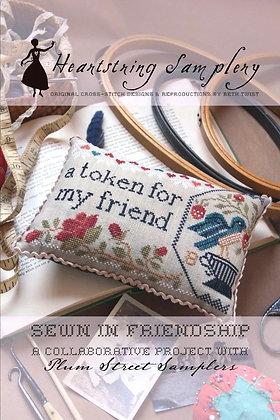 Heartstring Samplery Sewn in Friendship
