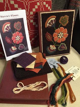Marcia's Flowers Applique Kit