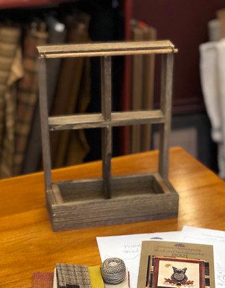 Window Frame with dowel