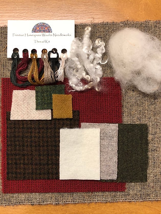 Wooly Block Adventure Kit with Threads & Fleece