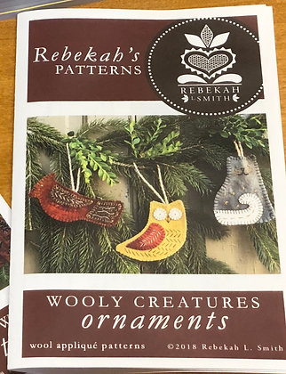 Wooly Creatures Pattern