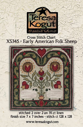 Teresa Kogut Early American Folk Sheep XS345
