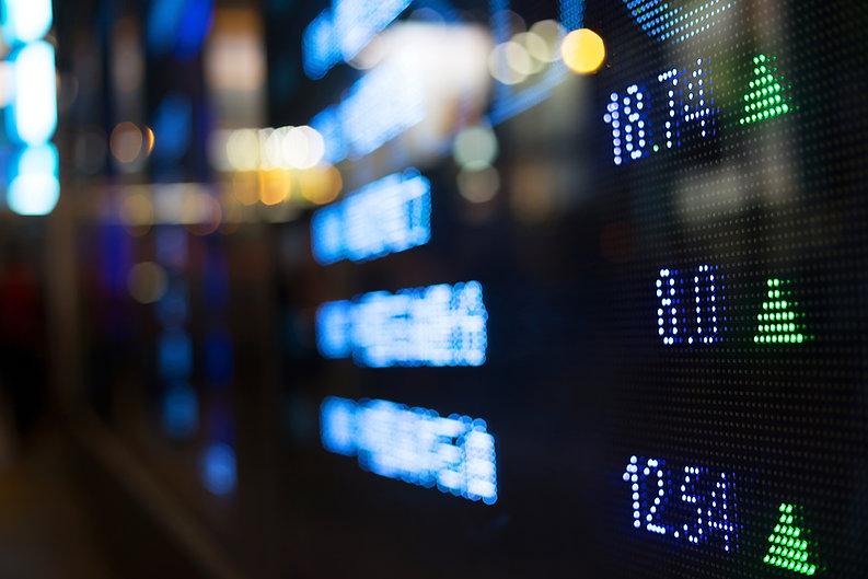 Aandelen markt bull