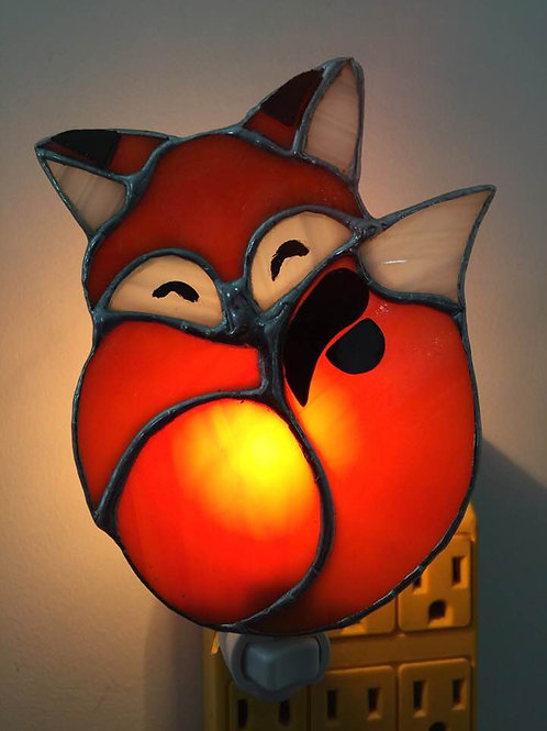 Stained Glass Fox Nighlight (Many more options available)