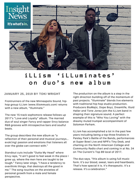 iLLism, Insight News