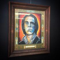 Saint Nick, fresh new framed art at the