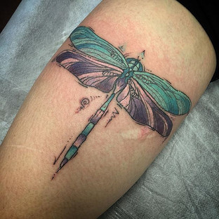 Water color Dragonfly, thank you Jaimee!
