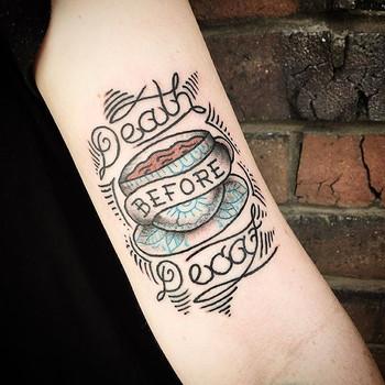 Thanks Pheobes! #tattoo #freo #freoarts