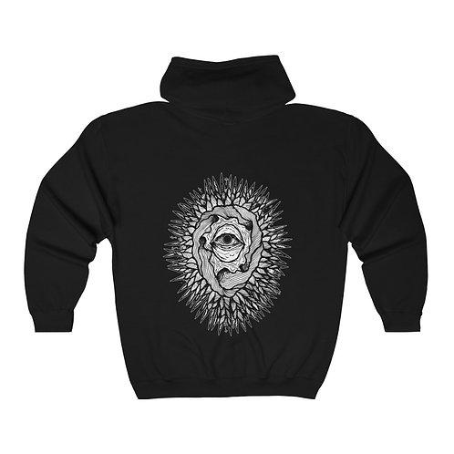 Viral Full Zip Hooded Sweatshirt