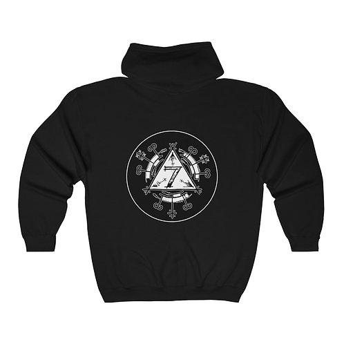 777 Full Zip Hooded Sweatshirt
