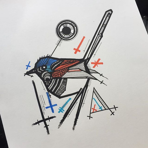 Red winged fairy wren Contact me for boo