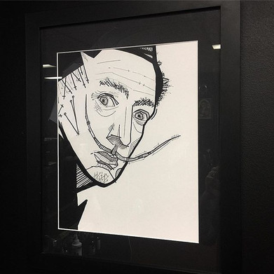 What you lookin at! Framed Dali availabl