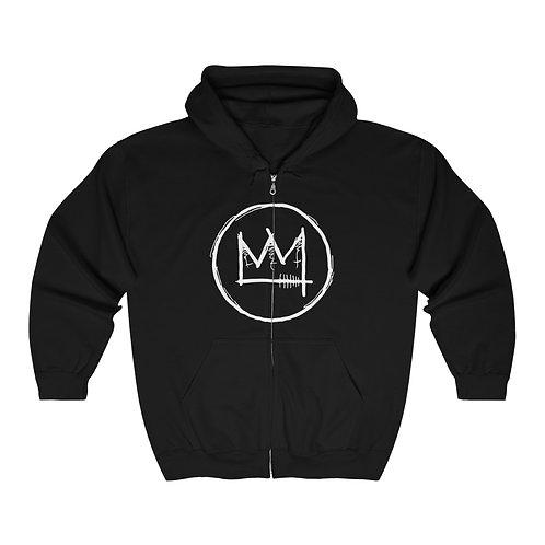 Crown SynthJam Unisex Heavy Blend Full Zip Hooded Sweatshirt