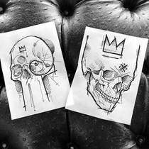 Skullz R us part 2 $250 each to tattoo