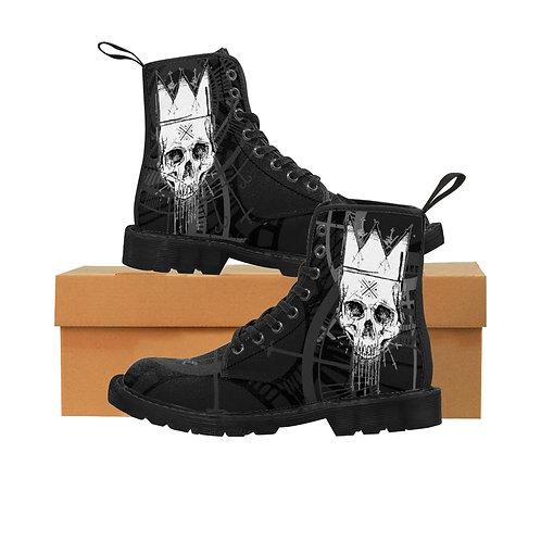 Dead Kings Rise Men's Canvas Boots