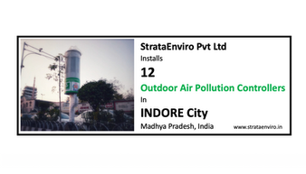 12 Outdoor Air Pollution Controllers in Indore City