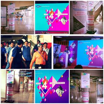 StrataEnviro at Mumbai Metro Station ( Versova )